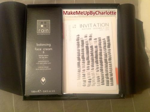 deauty-box-magritte-novembre-mois-produits-reçus-blogueuse-invitation-marque-rain