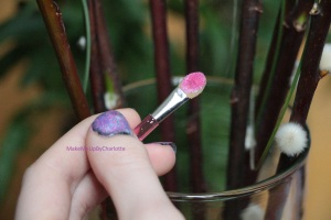 manucure-galaxy-galaxie-nail-art-vernis-blogueuse-tuto-tutoriel-rose-violet-brillant-nacré-facile-elf-opi-french-manucure-maybelline-sinfulcolors-kiko-pinceau-swatch