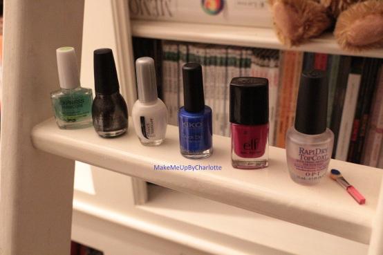 manucure-galaxy-galaxie-nail-art-vernis-blogueuse-tuto-tutoriel-rose-violet-brillant-nacré-facile-elf-opi-french-manucure-maybelline-sinfulcolors-kiko-pinceau-échelle
