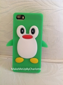 coque pinguin vert