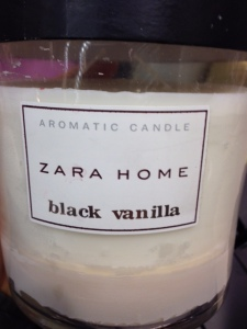 Bougie Zara Home Black Vanilla