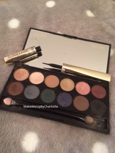 palette sleek et super liner