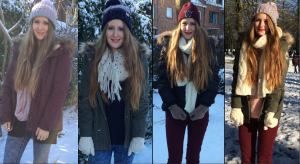 miniature lookbook d'hiver