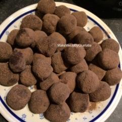 truffes assiette
