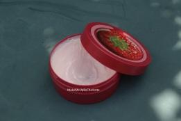 beurre corporel TBS fraise ouvert