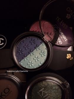 fard avril bleus bio nuances de bleus maquillage palette