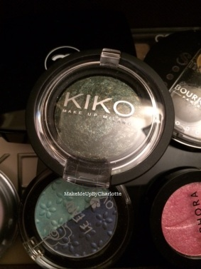 fard kiko vert marbré maquillage palette makeup milano