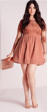 robe grde taille courte
