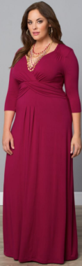 robe grde taille longue
