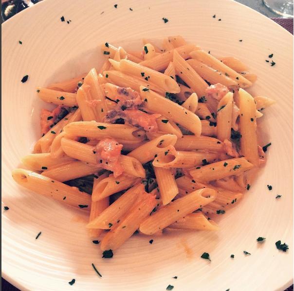 corse-pates-saumon-restaurant-corte-epices-food-foodporn-bouffe-resto-famille