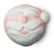idées-cadeaux-noel-femmes-ange-bombe-pour-bain-lush-coffrets-article-avis-blogueuse-pas-cher-pere-noel-santa-belly