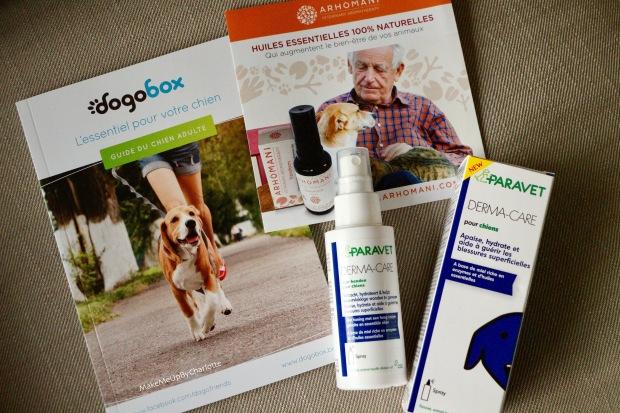 vidéo-unboxing-box-gratuite-pour-chiens-dogobox-pour-tous--bloopers-fuji-dog-noel-vidéo-drole-cadeaux-pour-chiens-idées-blogueuse-youtubeuse-croquettes-friskies-corona-direct-dyson-ambi-pur-swiffer