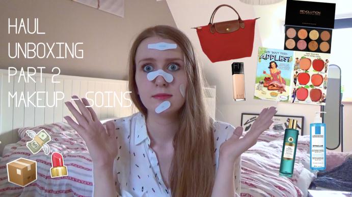sac-longchamp-haul-the-balm-unboxing-fit-me-maybelline-beauté-makeup-palette-blush