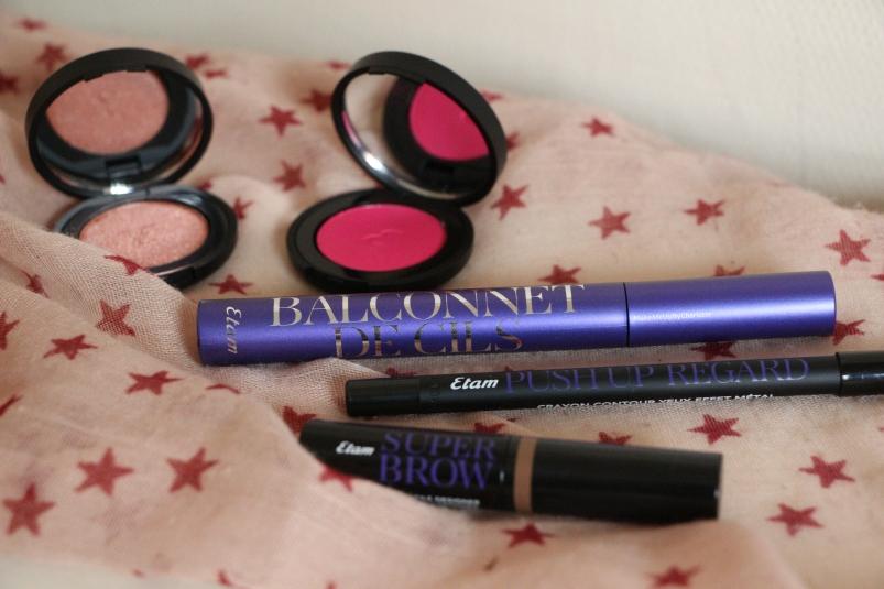 Maquillage complet avec produits Etam