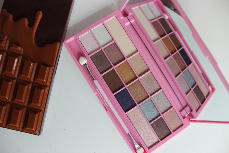 Swatchs et avis des palettes IHeart Makeup Revolution
