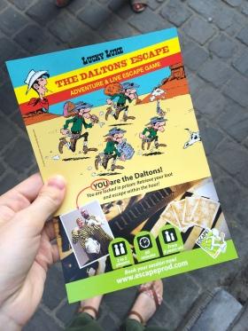 Escape game à Bruxelles